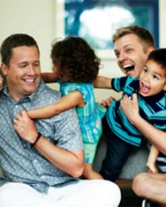 Real-life-gay-dads-todd-koch-and-cooper-smith-play-with-their-kids-in-a-fathers-day-ad-for-jcpenney
